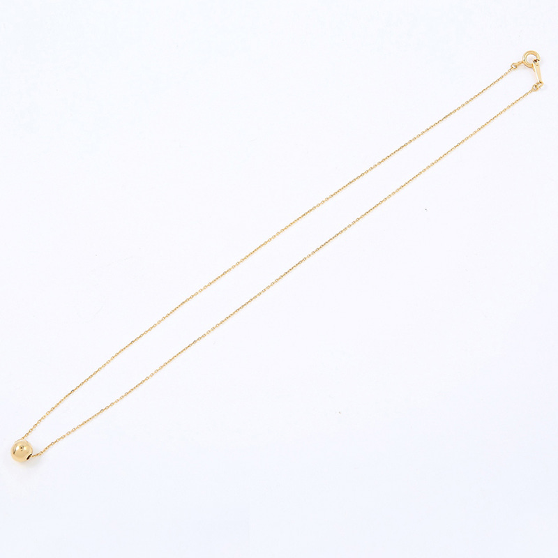 【TMO BY 13MONTH】BALL PENDANT NECKLACE (GOLD)