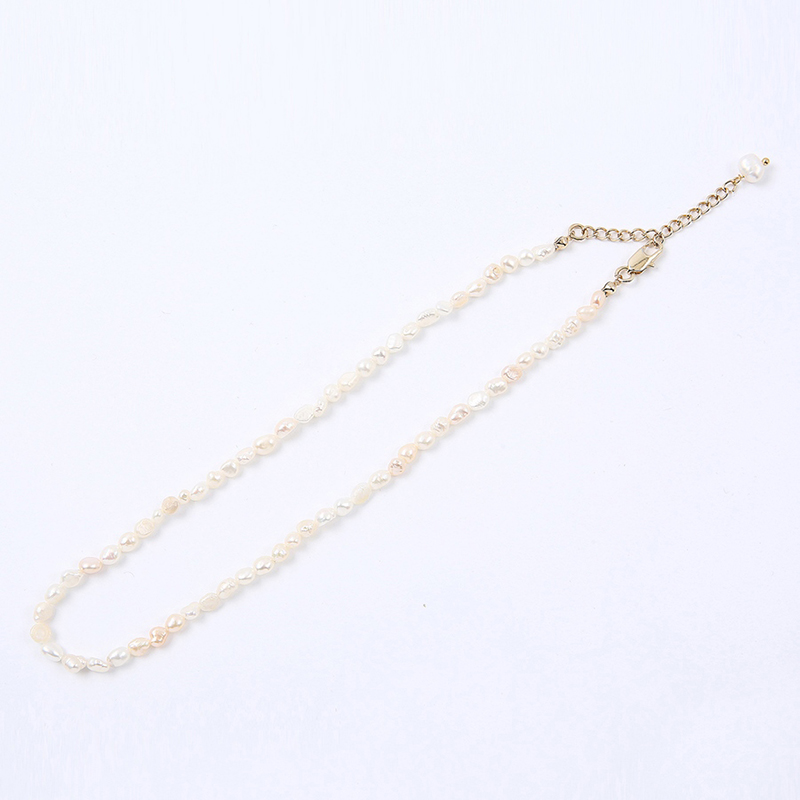 【TMO BY 13MONTH】REAL PEARL CHOKER (GOLD)