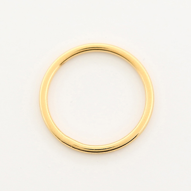【TMO BY 13MONTH】SIMPLE SLIM RING (GOLD)