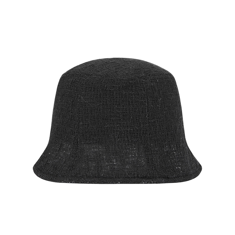 【TMO BY 13MONTH】VINTAGE WOVEN BUCKET HAT (BLACK)