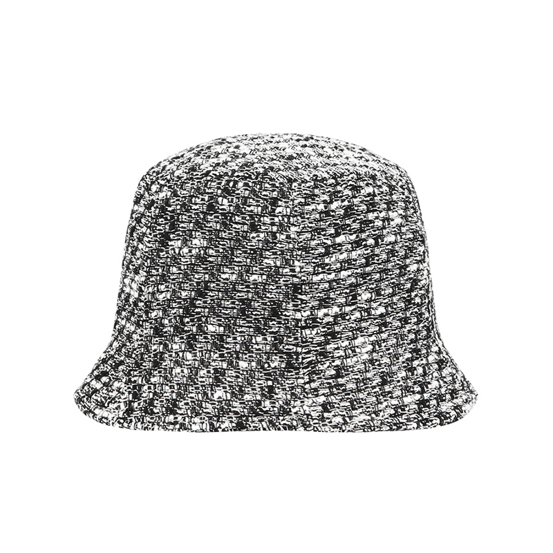 【TMO BY 13MONTH】VINTAGE WOVEN BUCKET HAT (WHITE)